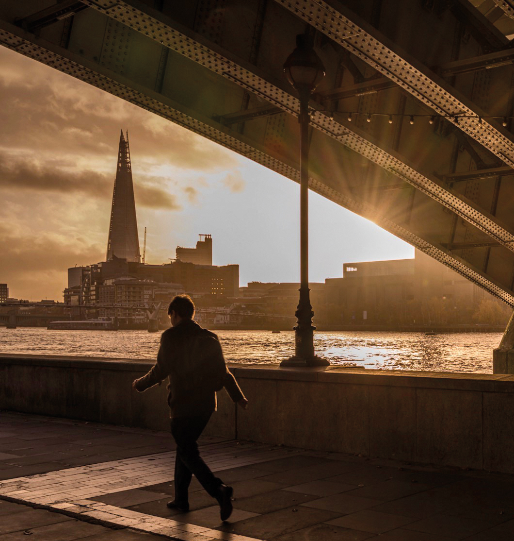 Person by the Thames - Immigration Solicitor London and North London